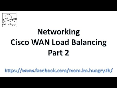 Networking : Cisco Basic WAN Load Balancing Part II