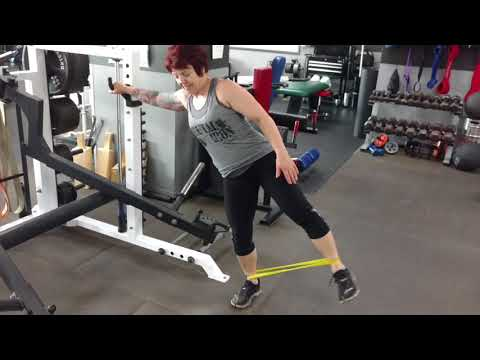 Brutal Iron Gym - Therapy Band Warm Up for Hips (see description)