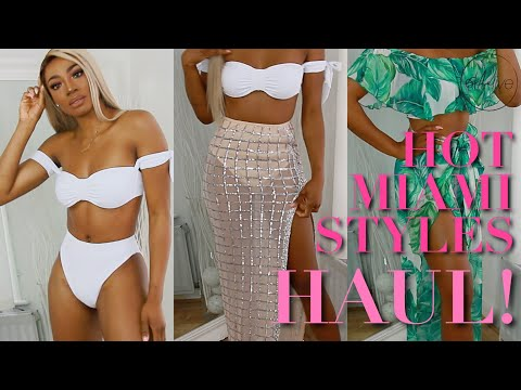 HAUL | HOT MIAMI STYLES • DAY TO NIGHT SUMMER TRY ON HAUL!