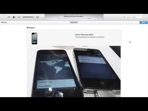 Regresar a iOS 6.1.3(.4) DOWNGRADE iOS 7 para TODOS LOS iDevices