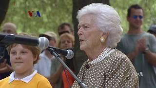 Mantan Ibu Negara dan Penggiat Budaya Baca Barbara Bush Wafat - Liputan Berita VOA