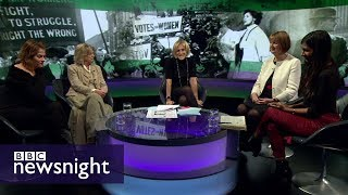 Feminist achievements and shortfalls: DISCUSSION – BBC Newsnight