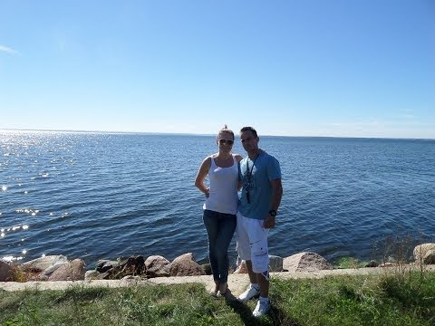 Tile Master with Wife on short Vacation   Poland 2013 SOPOT