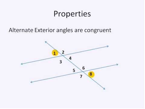 Parallel Lines and Transversals (Simplifying Math)