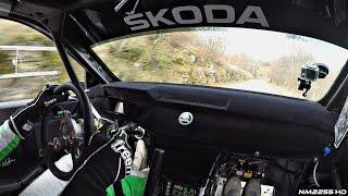 Skoda Fabia R5 Rally Car POV Ride OnBoard with Umberto Scandola
