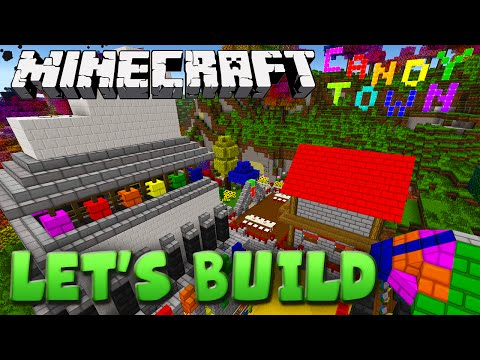 Minecraft Let's Build - Candy Town