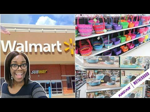 Walmart Haul 2018 | Shop with me | Spring is in the air 🌸