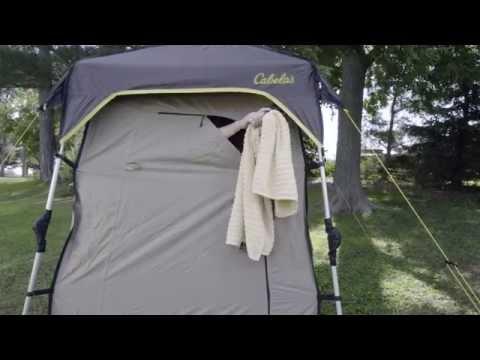 Easy-Up Deluxe Shower Shelter by Cabela's   Camp Cabela's