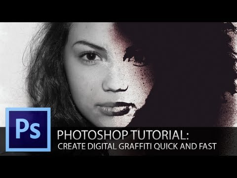 Photoshop Tutorial: Turning a photo into graffiti