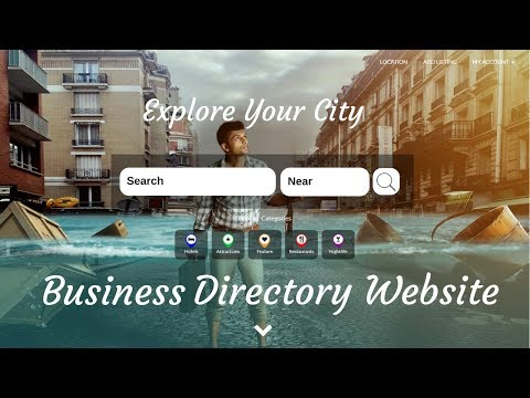 How To Create Business Directory Website With WordPress | Business Listing Site