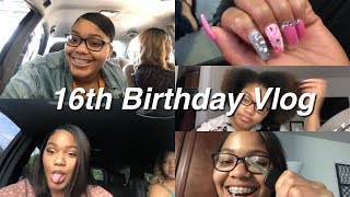Download 16th Birthday Vlog| Nails Done + Hair Done + Getting a Car!! Video