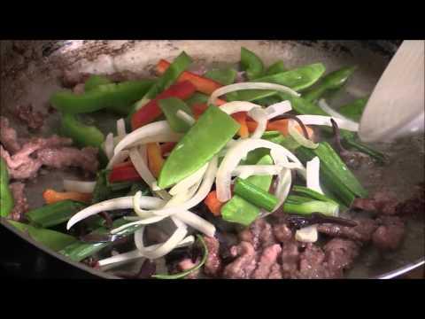 Black Pepper Beef Stir-Fry With Vegetables