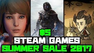 Top Ten 5 Games steam Summer Sale 2017
