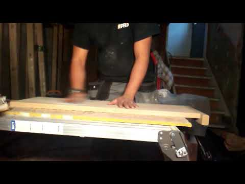 Staining Hardwood (oak) Tread for stairs