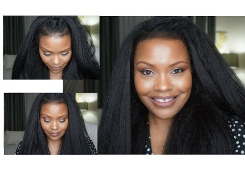 How To Hide Thin Edges In 5 Minutes!   Weave Aide Edge Pomade Fine Hair, Alopecia, Hair Loss