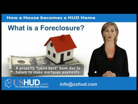 HUD Foreclosure | How a House becomes a HUD Home