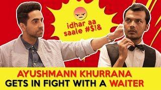 Ayushmann Khurrana Gets In Fight With A Waiter | Article 15 | RVCJ Movies
