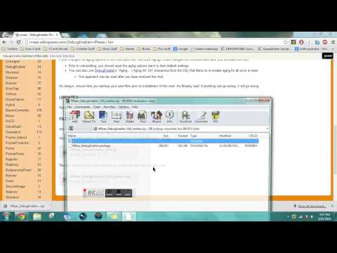 How to install Debug Enabler Mod- For Sims 3