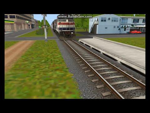 Amtrak phase lll Train at 107 mph trainz 12 - PlayItHub