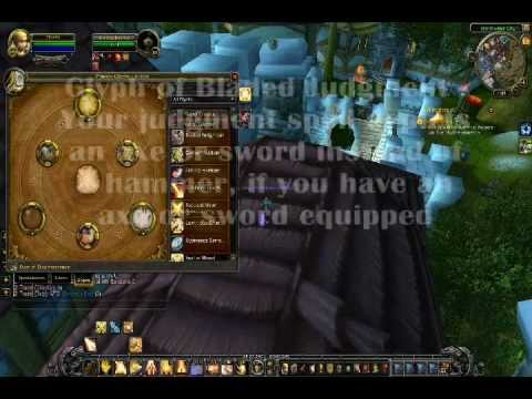 Paladin Minor Glyph Visuals in Mists of Pandaria World of Warcraft