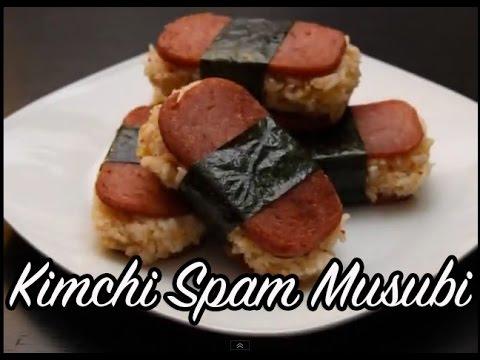 Kimchi Spam Musubi