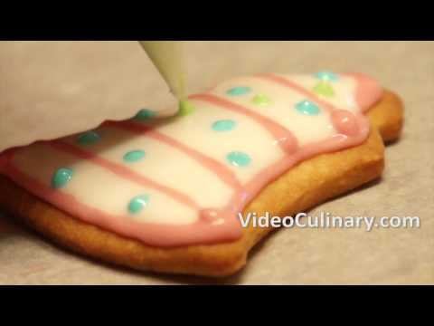 60 Seconds About Decorated Cookies - Link to Full Recipe in the Description Box