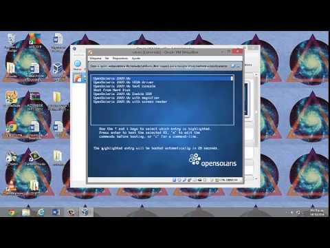 Como crear una Maquina Virtual con Solaris