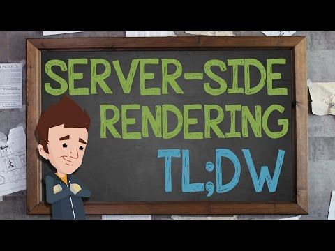 Server-Side Rendering: TL;DW - Supercharged