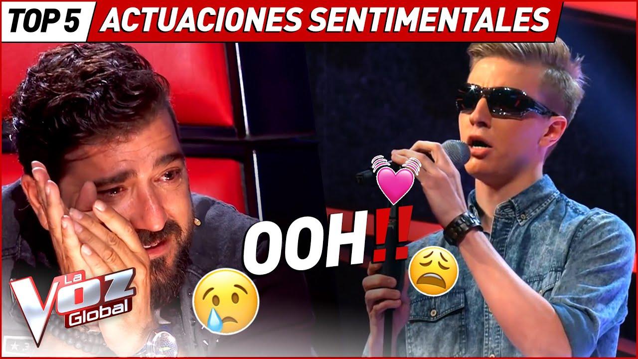 Hicieron llorar a los coaches con estas actuaciones sentimentales en La Voz