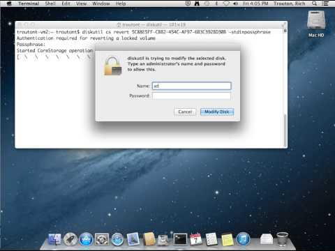 Mac OS X 10.8.4 admin users not blocked from decrypting FileVault 2