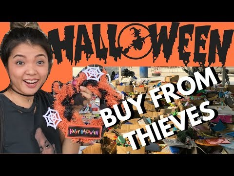 What I Can Buy From THIEVES MARKET in Bangkok?!