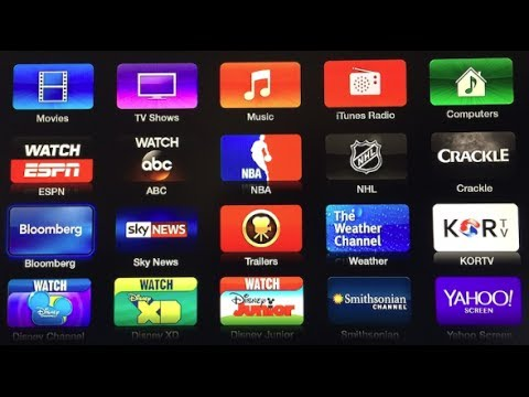 New Channels on Apple TV