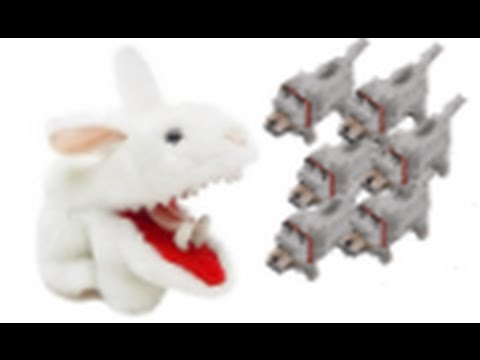 Minecraft Wolves VS Killer Rabbits!