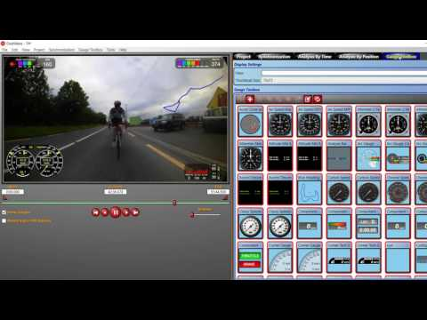 Linking Garmin bike computer telemetry and camera footage with Dashware