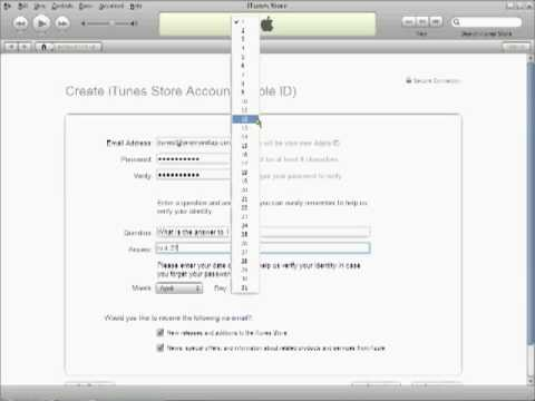How To: Create US iTunes Store Account
