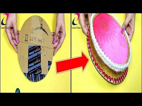 Best craft idea I DIY Decorative Wedding Tray I Creative Diaries