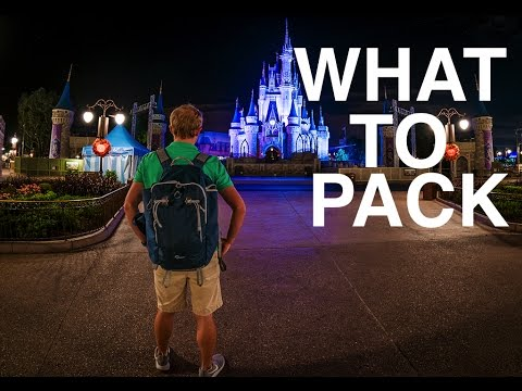 What To Pack In Your Disney World Park Backpack!