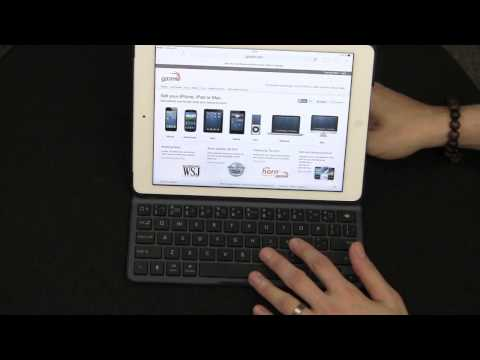 Belkin iPad Air QODE Ultimate Wireless Keyboard Case Review