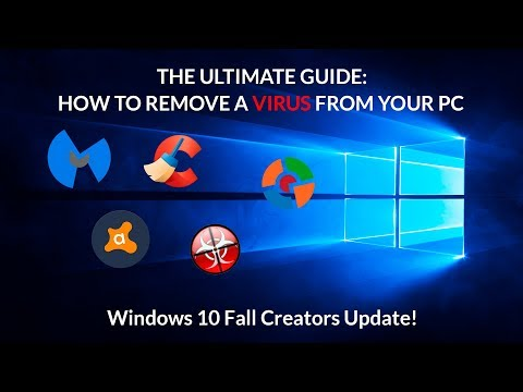 How to Remove A Deep Virus Infection From Your PC For Free (Windows 7/8/8.1/10)