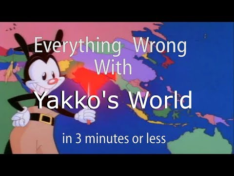 Everything Wrong With Yakko's Nations of the World