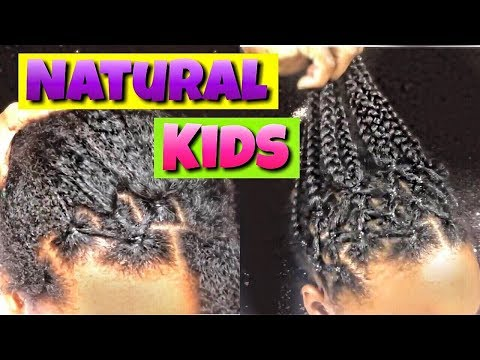 QUICK & EASY kids Natural Hairstyle | alexuscrown