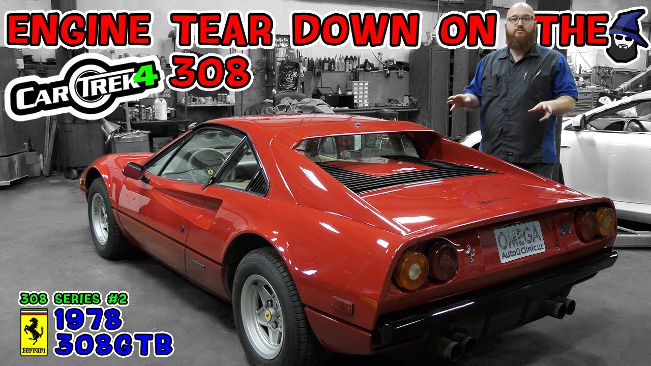 Tearing down the Car Trek 4 Ferrari 308 V8! What does the CAR WIZARD find?