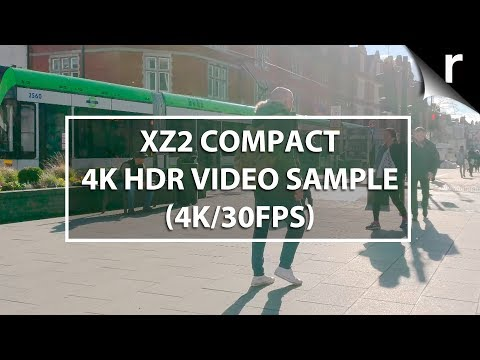 Sony Xperia XZ2 Compact 4K HDR video comparison (4K/30fps)