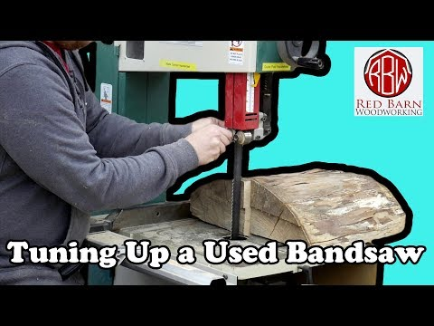 Grizzly G0513X2: Tuning up an old, used bandsaw