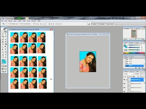 How to make a Passport size photo in Photoshop (Bangla Tutorial)