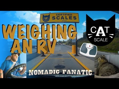 Taking RV Onto A Certified Truck Scale