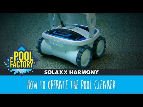 Solaxx Harmony - How to operate the pool cleaner
