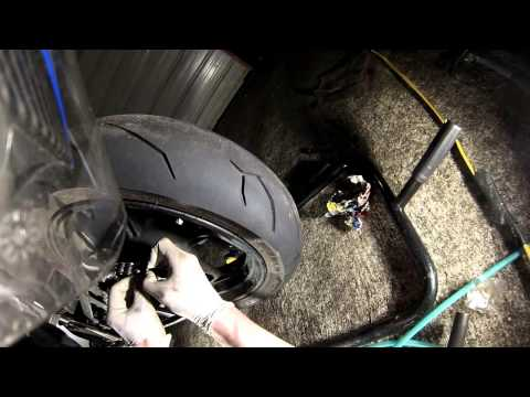 Replacing Chain & Sprockets on Ninja 300 (in half time)