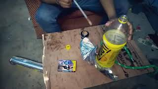 देशी  हुककाHow to Make Hookah At Home | (Plastic Bottle Hookah)