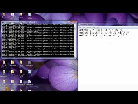 How to Unhide Files and Folders after Malware Virus Attack